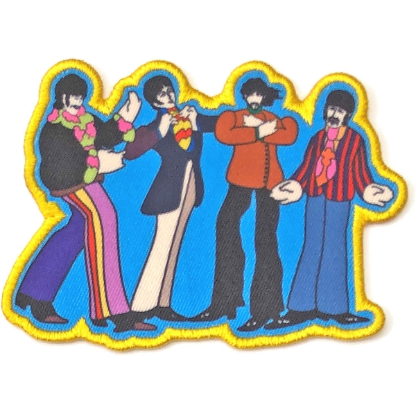 The Beatles - Yellow Submarine Sub Band Standard Patch