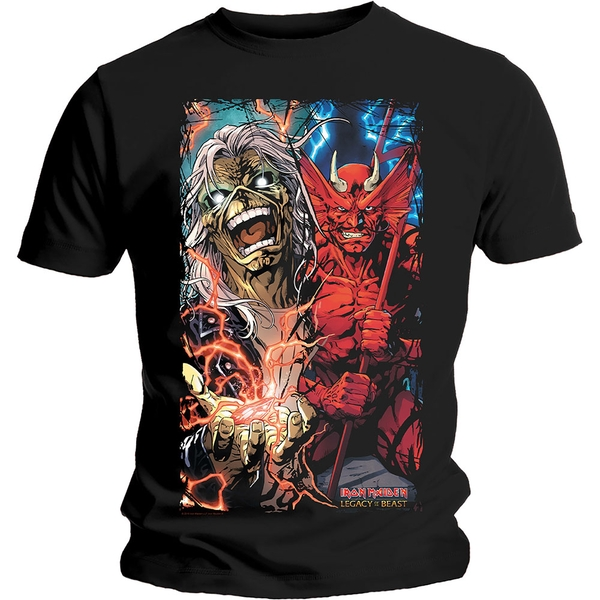 Iron Maiden - Duality Men's Large T-Shirt - Black