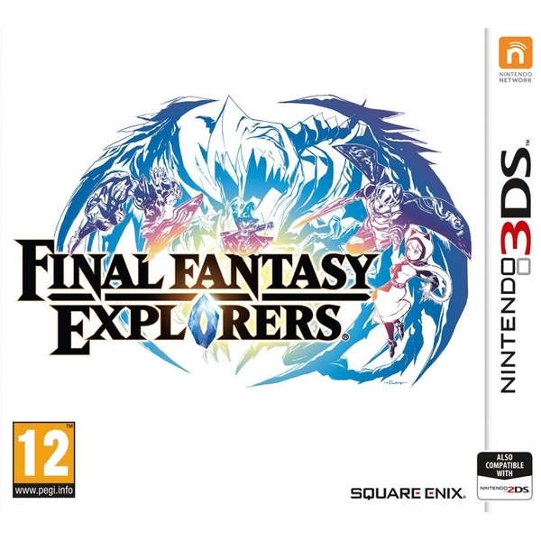 Final Fantasy Explorers 3DS Game