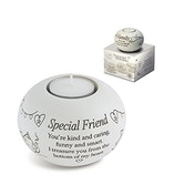 Said with Sentiment Tea Light Holders Special Friend