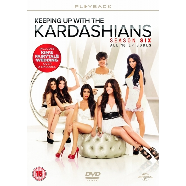 Keeping Up With The Kardashians: Season 6 Box Set DVD