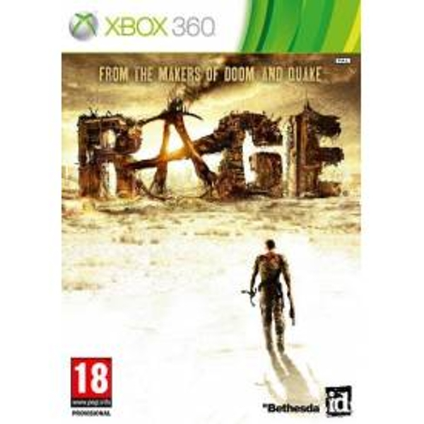 Rage Game Xbox 360