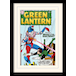 Green Lantern - Giant Puppet Mounted & Framed 30 x 40cm Print - Image 2