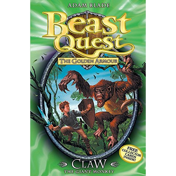 Beast Quest: Claw the Giant Monkey Series 2 Book 1 2008 Paperback / softback