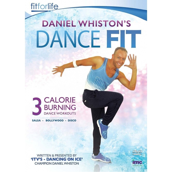 Daniel Whiston's (ITV's Dancing on Ice Champion) Dance Fit - 3 Calorie Burning Dance Workouts - Bollywood, Disco and Salsa DVD