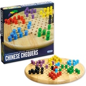 Traditional Chinese Chequers Board Game