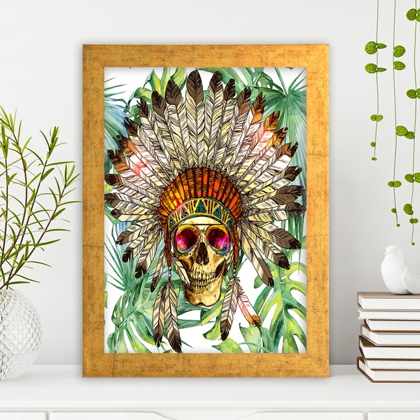AC4475944423 Multicolor Decorative Framed MDF Painting
