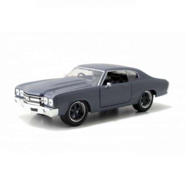 Dom's Chevy Chevelle SS Grey (Fast & Furious) Jada Diecast Model