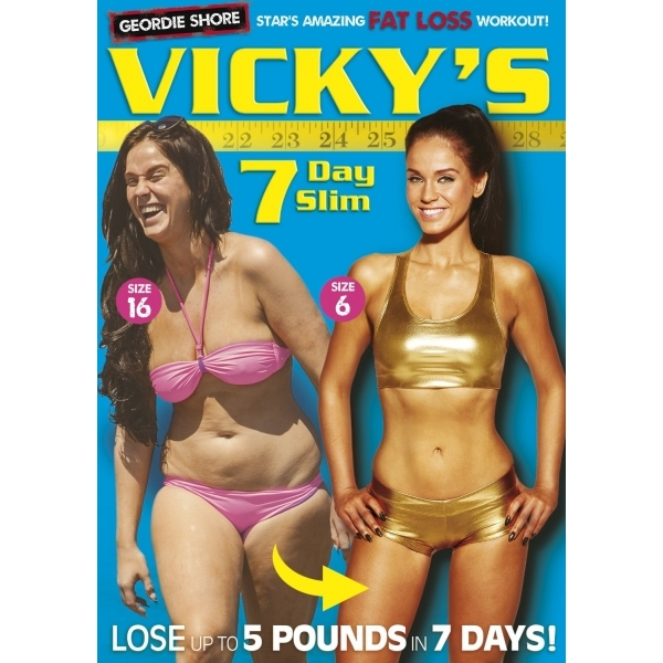 Vicky Pattisons 7 Day Slim DVD