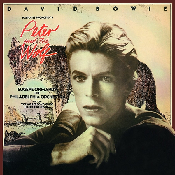 David Bowie Narrates Prokofiev, Eugene Ormandy, The Philadelphia Orchestra, Britten ‎– Peter And The Wolf/Young Person's Guide To The Orchestra Vinyl