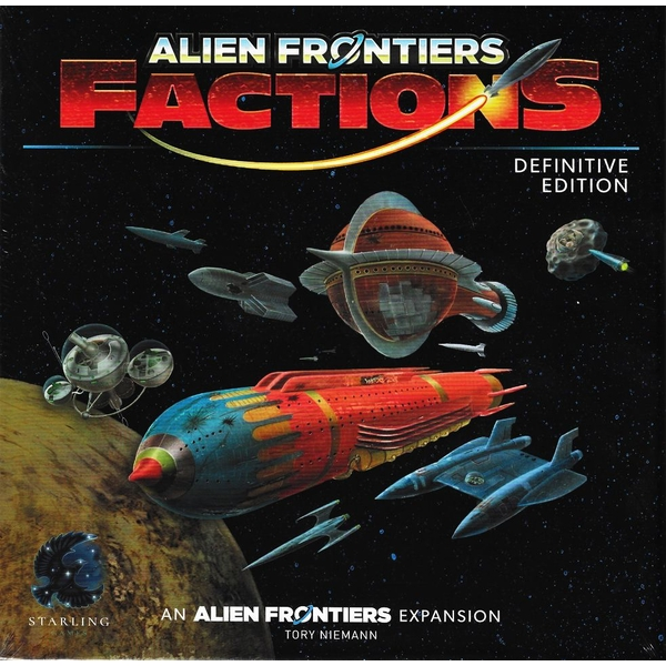 Alien Frontiers: Factions (Definitive Edition) Board Game