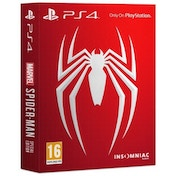 Damaged Outer Box Marvel's Spider-Man Special Edition PS4 Game Used - Like New