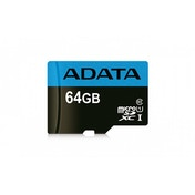 ADATA 64GB Premier High Capacity Micro SD Card with SD Adapter