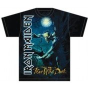 Iron Maiden Fear of the Dark Tree Sprite Mens T Shirt: Sm