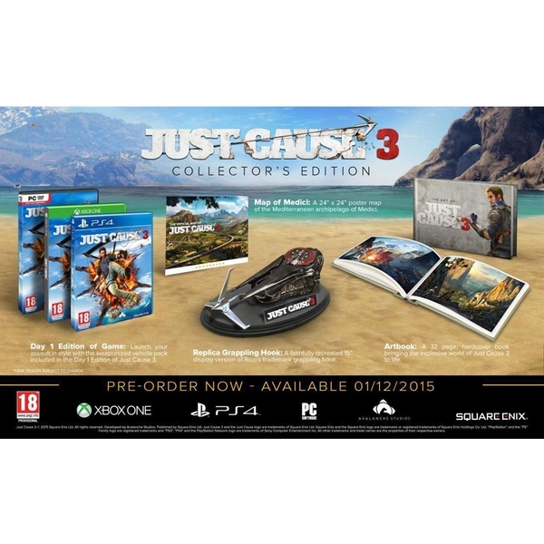 Just Cause 3 Collectors Edition PC Game