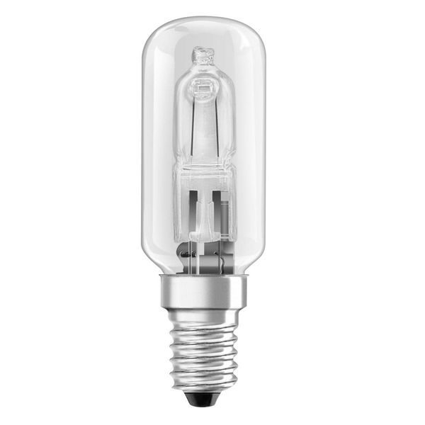 Xavax Halogen Bulb for Extractor Hoods, 40 W, tubular, clear, E14