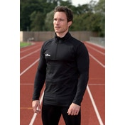 Precision L/S (Turtle) Running Shirt Adult Black/Black - XXL