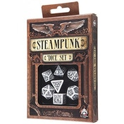 Q-Workshop Steampunk White & Black Dice Set