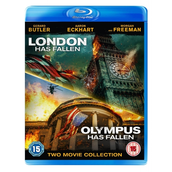 London Has Fallen & Olympus Has Fallen Blu-ray