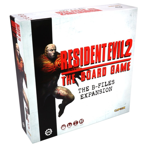 Resident Evil 2: B-files Expansion Board Game