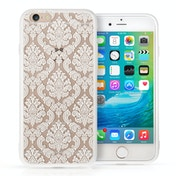 YouSave Accessories iPhone 7 TPU Hard Case - Damask White