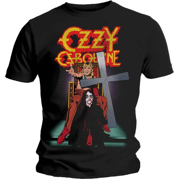 Ozzy Osbourne - Speak of the Devil Vintage Men's Large T-Shirt - Black