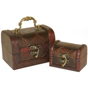 Set of 2 Diamond Chests