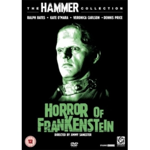Horror of Frankenstein DVD