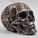 Tribal Cold Cast Bronze Skull (Small) - Image 2
