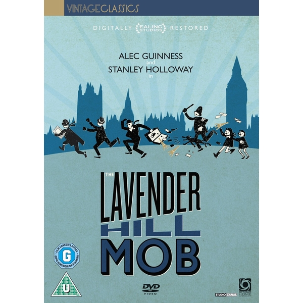 The Lavender Hill Mob 1951 DVD
