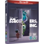 Monsters Inc 3D Blu-ray