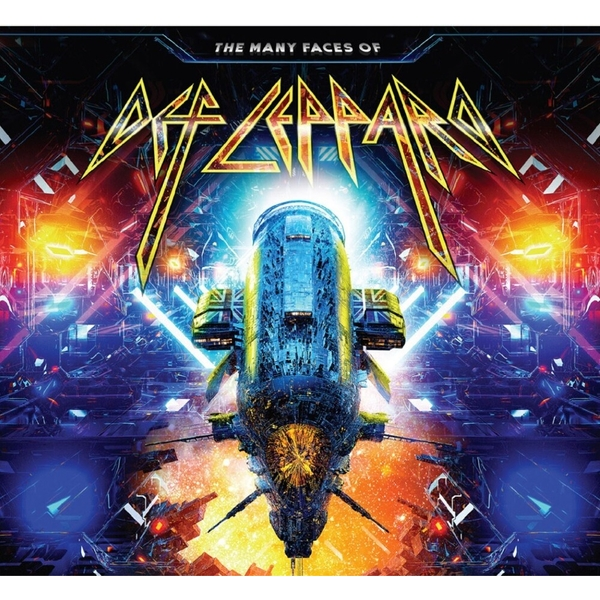 Various - The Many Faces Of Def Leppard CD