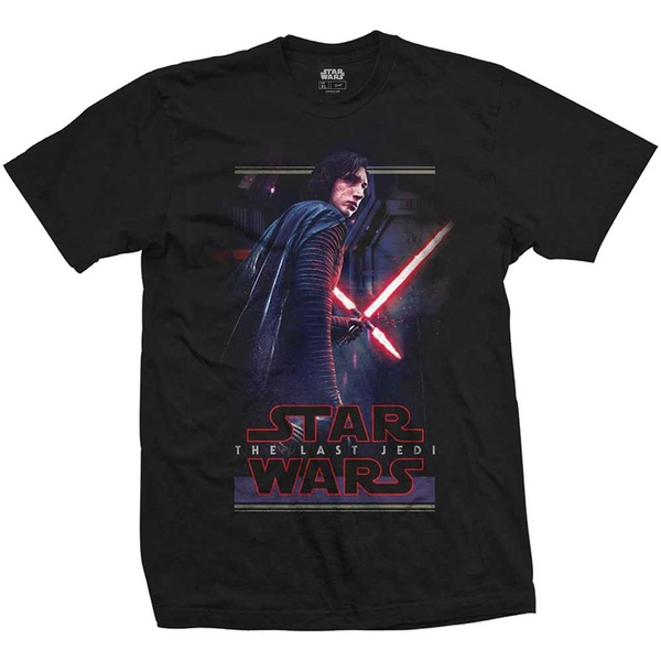 Star Wars - Episode VIII Kylo Pose Unisex Large T-Shirt - Black