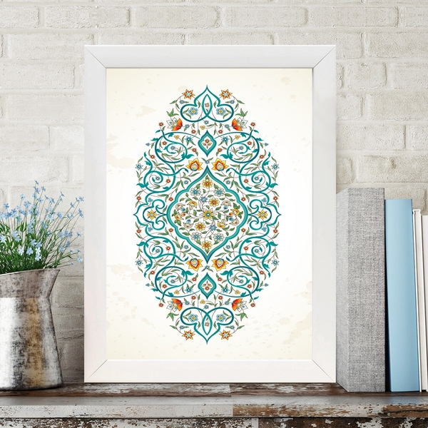 BC547077118 Multicolor Decorative Framed MDF Painting