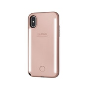 LuMee DUO for iPhone X Rose