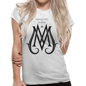 Crimes Of Grindelwald - Ministry Deco Logo Women's Medium T-Shirt - White