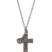 Metallica Alchemy Rocks Master Of Puppets 1986 Cross Pendant Silver