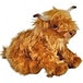 Living Nature Soft Toy - Plush Highland Cow Soft Toy With Sound (Large) - Image 2