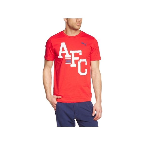 Arsenal Puma AFC T Shirt Red Small