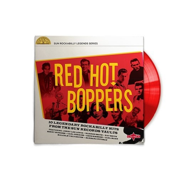 Various Artists - Red Hot Boppers Vinyl - 365games.co.uk
