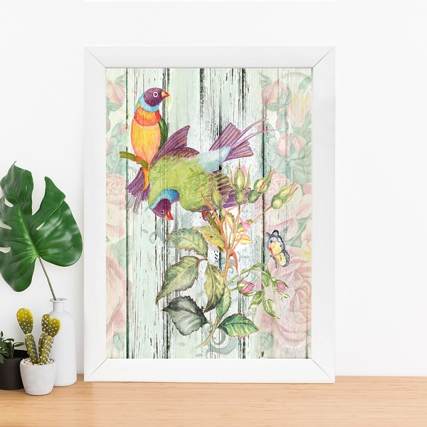 BC151728440 Multicolor Decorative Framed MDF Painting
