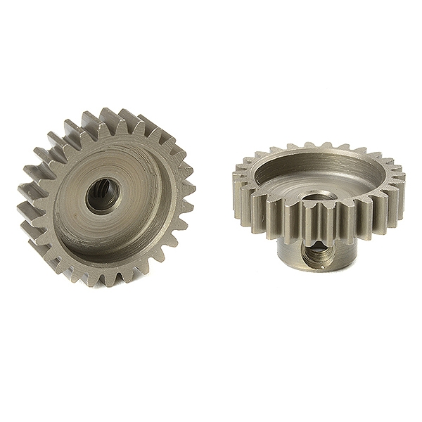 Corally M0.6 Pinion Short Hardened Steel 26 Teeth Shaft Dia. 3.17Mm