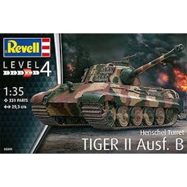 TigerII Ausf.B (Henschel Turret) 1:35 Revell Model Kit