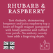 Rhubarb & Raspberry (Polka Dot Collection) Tin Candle - Image 3