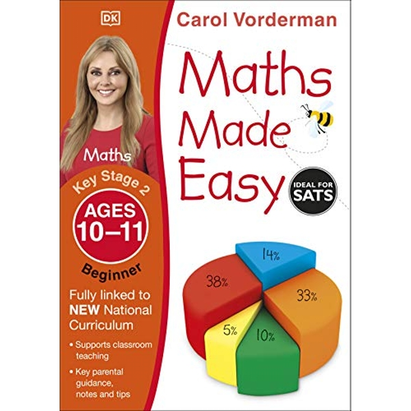 Maths Made Easy Ages 10-11 Key Stage 2 Beginner by Carol Vorderman (Paperback, 2014)