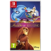 Disney Classic Games Aladdin and The Lion King Nintendo Switch Game