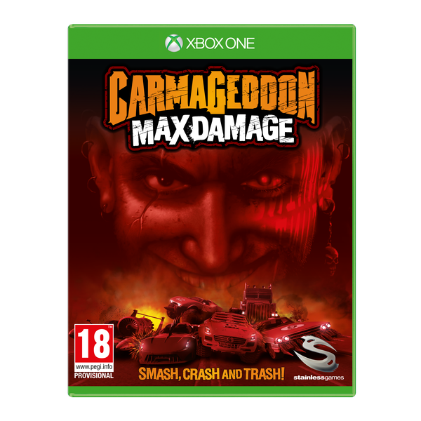 Carmageddon Max Damage Xbox One Game [Used - Like New]