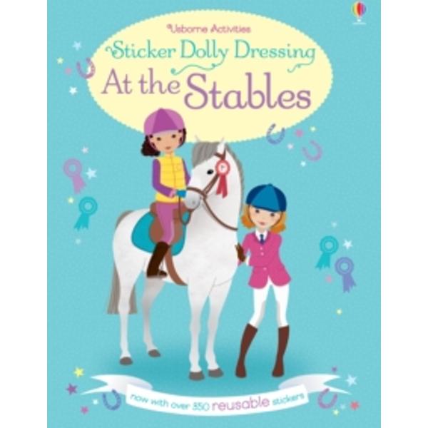 Sticker Dolly Dressing at the Stables by Lucy Bowman (Paperback, 2016)