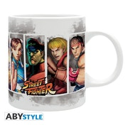 Street Fighter - Characters Mug