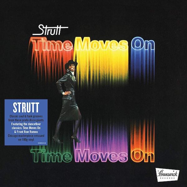 Strut - Time Moves On Vinyl